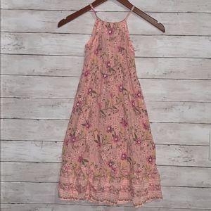Old Navy | Pink Floral Dress Girls Size S